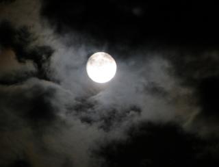 たのしい万葉集(1068): 天の海に雲の波立ち月の舟